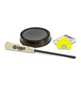 Hunters Specialties 07010 PAN CALL RASPY OLD HEN SLATE W /DIA