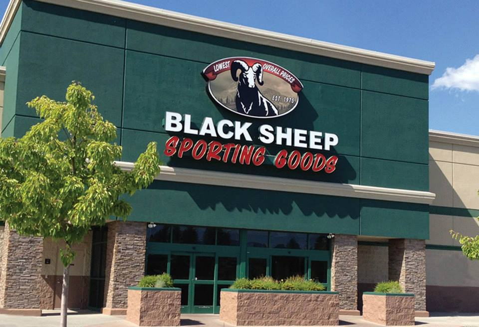 Black Sheep Sporting Goods Store Exterior