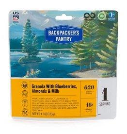 Backpackers Pantry Granola w/ Blueberries, Almonds & Milk