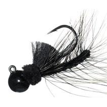 Aerojig Hackle, 1/4 Oz, Black
