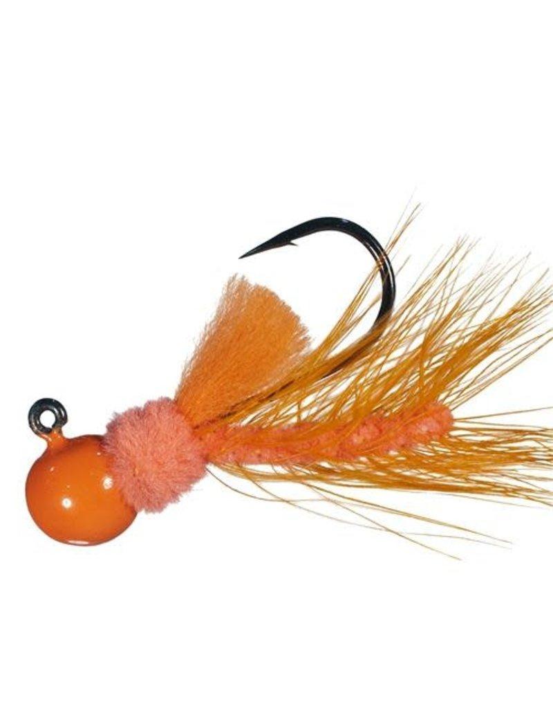 Aerojig (Hawken Ind.) Aerojig Hackle, 1/4 Oz, Orange