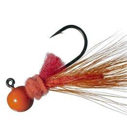 Aerojig (Hawken Ind.) Aerojig Hackle, 1/4 Oz, Orng/Red