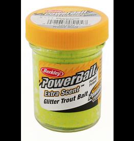 Berkley (Pure Fishing) Powerbait Glitter Trout Bait Chartreuse