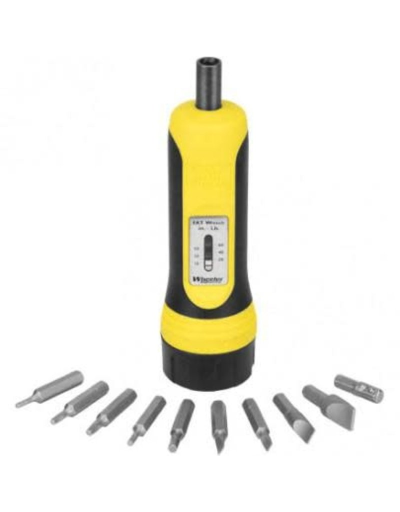 Wheeler Wheeler 553556 Fat Wrench Racheting Screwdriver 10 Bits