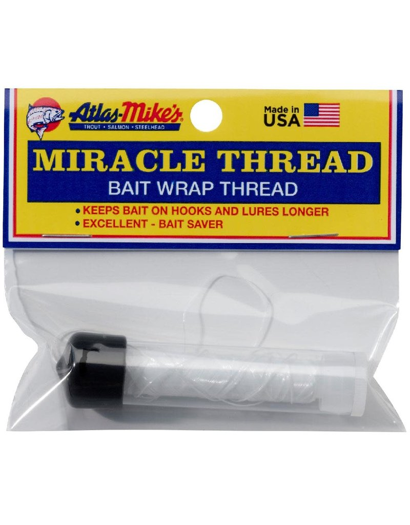 Atlas-Mikes ATLAS MIRACLE THREAD W/DISPENSER CLEAR 100 FT
