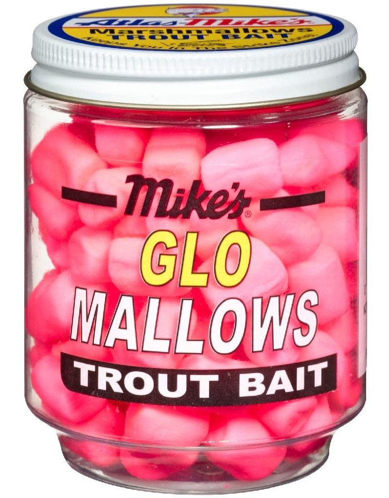Atlas-Mikes MIKE'S SHRIMP GLO MALLOWS  CERISE/SHRIMP