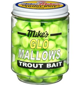 Atlas-Mikes Mike's 5030 Glo Mallows Chartreuse/Garlic 1.5oz Jar