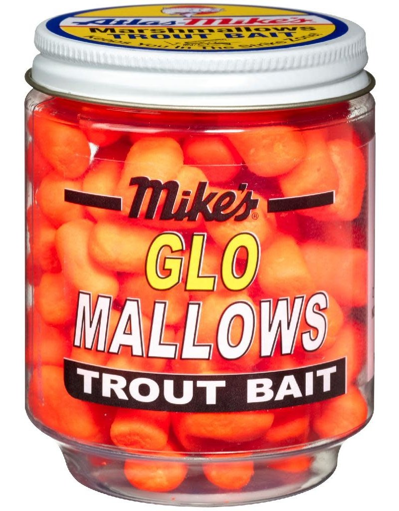 Atlas-Mikes MIKE'S CHEESE GLO MALLOWS  ORANGE/CHEESE