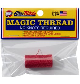Atlas-Mikes ATLAS MAGIC THREAD (1 SPOOL/BAG) RED 100 FT