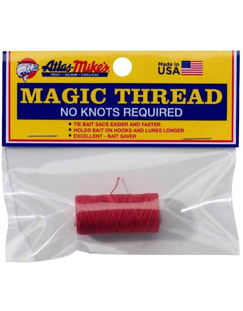Atlas-Mikes ATLAS MAGIC THREAD (1 SPOOL/BAG) RED 100 FT