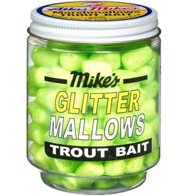 Atlas-Mikes Mike's 5210 Glitter Mallows Chartreuse/Cheese 1.5oz Jar