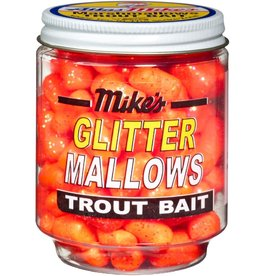 Atlas-Mikes Mike's 5201 Glitter Mallows Orange/Garlic 1.5oz Jar