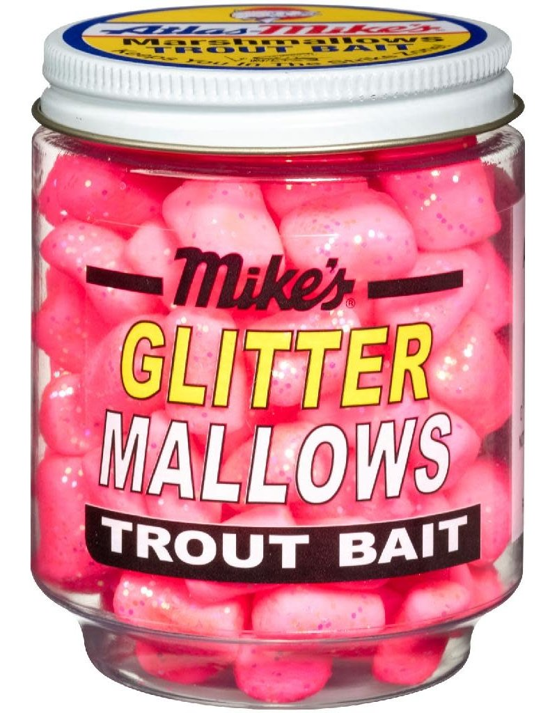 Atlas-Mikes MIKE'S GLITTER GLO MALLOW  PINK/SHRIMP