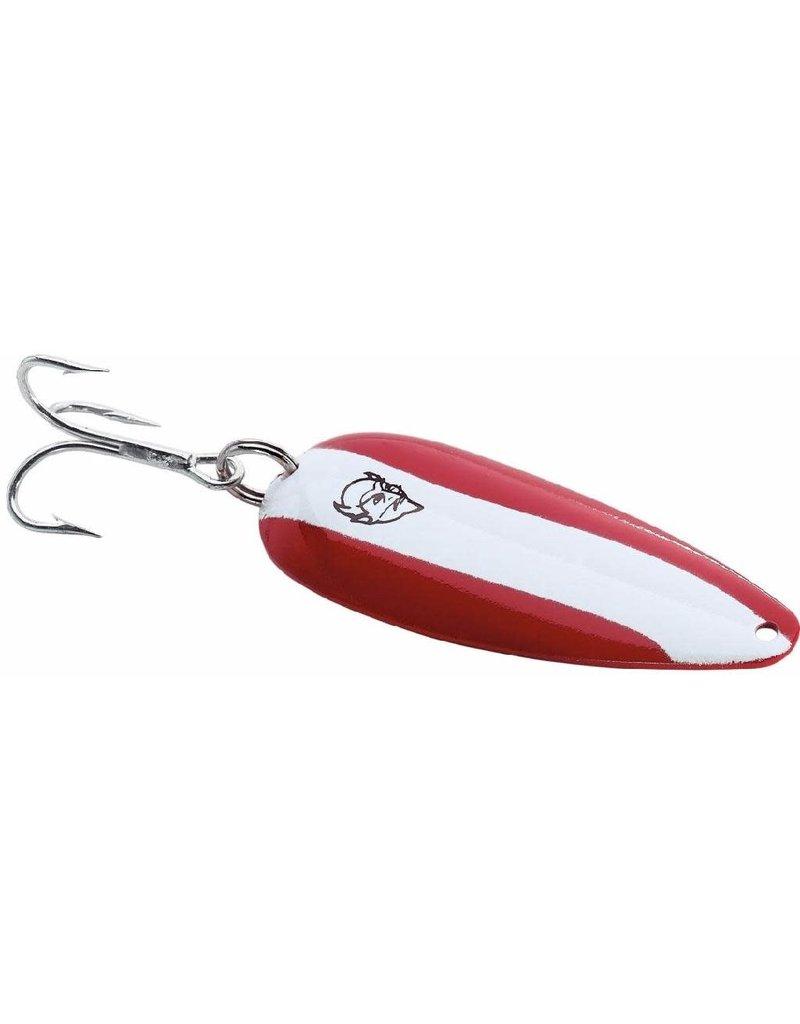 Eppinger EPPINGER DARDEVLE 1 OZ  RED/WHITE/NIC