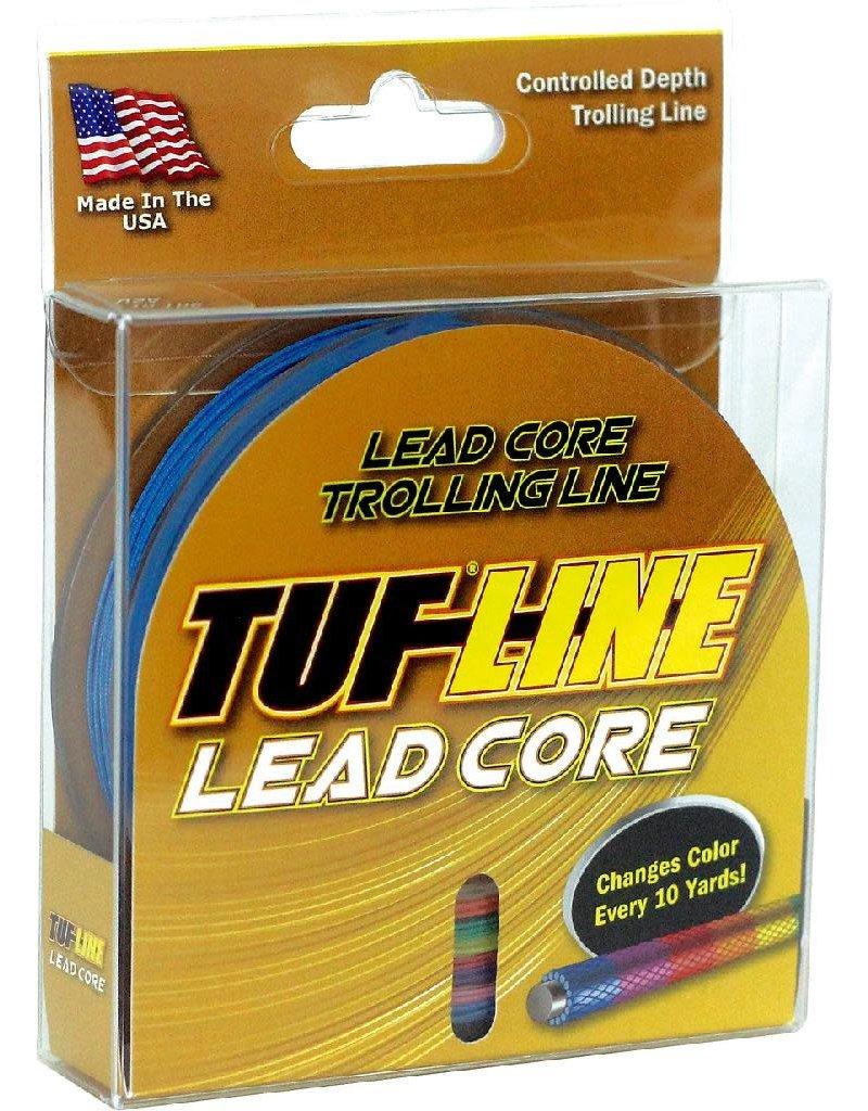 Western Filament Tuf-Line LC18100 Lead Core Trolling Line 18lb 100yd MultiColor
