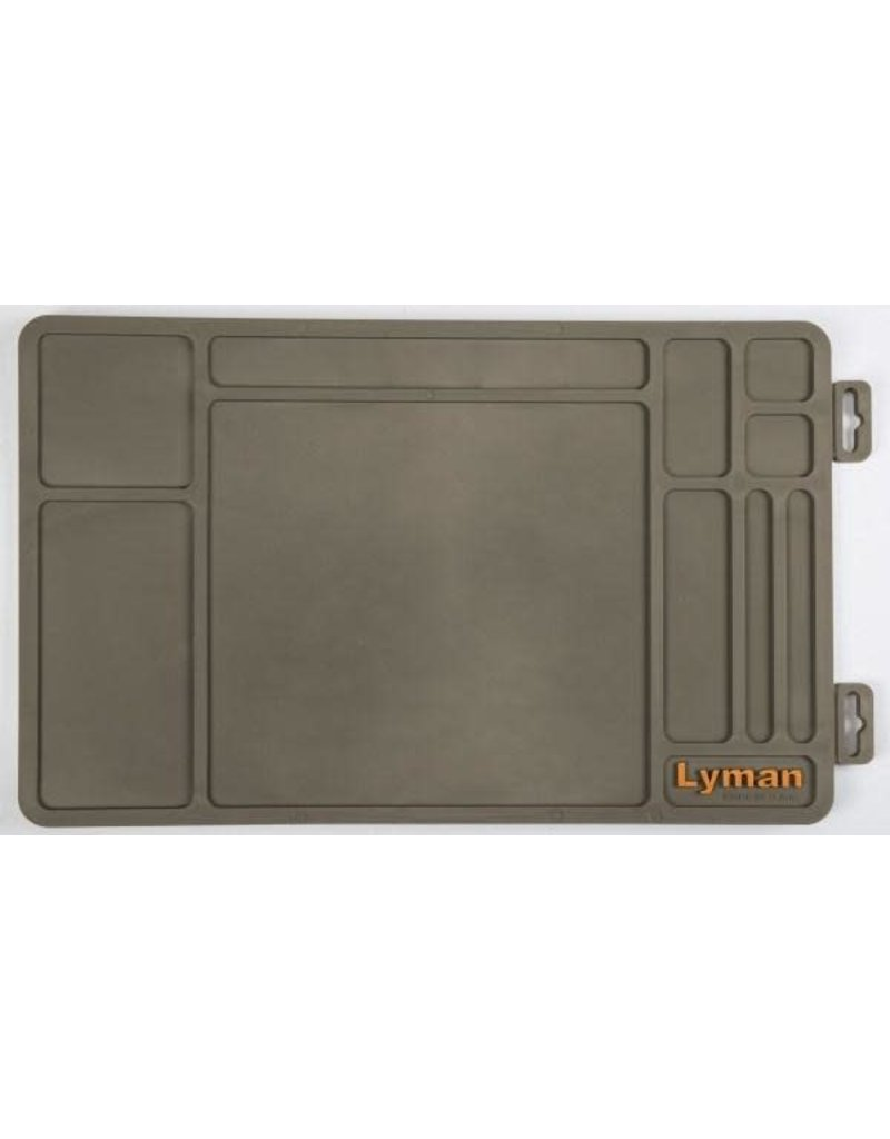 """Lyman Products Corporation """"Essential"""" Gun Maintenance Mat, Flat With Hang Tag"""
