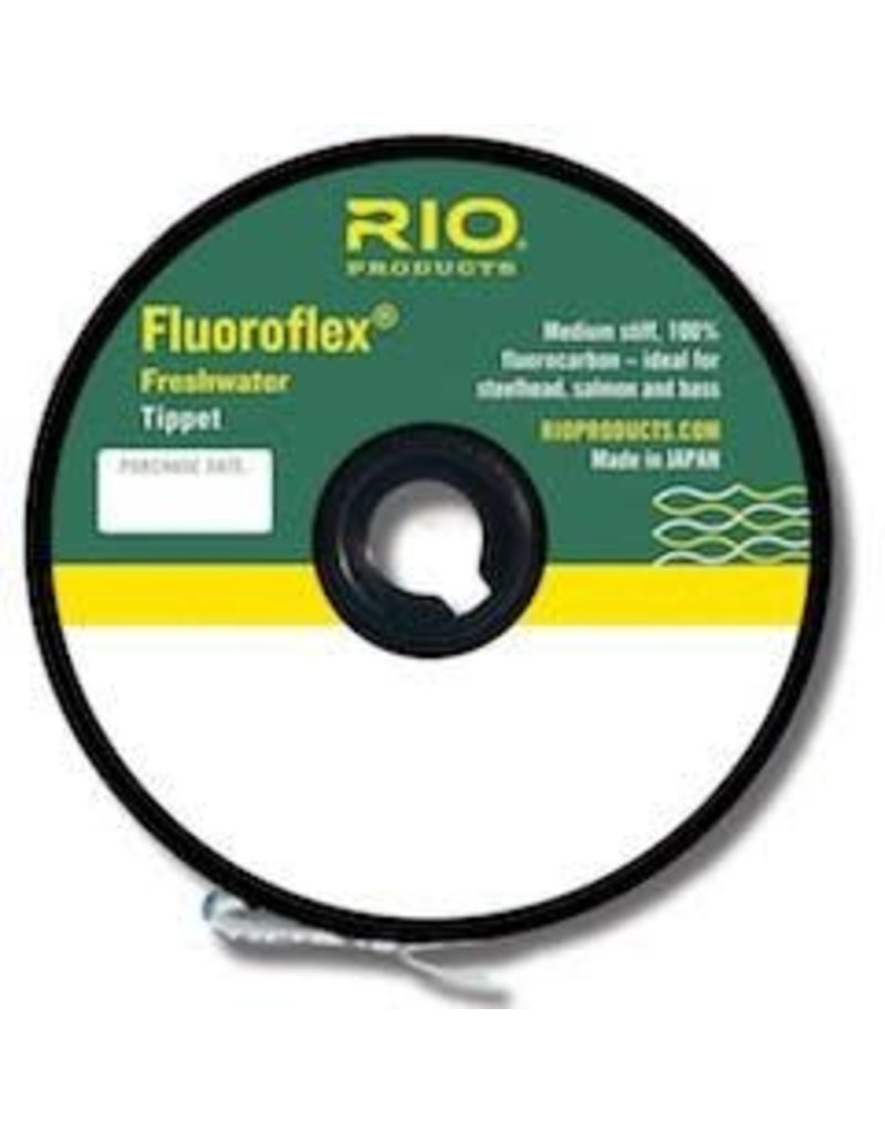 RIO Products FLUOROFLEX FRESHWATER TIPPET 30YD 3X Size: 3x Length: 30yds/27.4m Test: 6lb/2.7kg diameter: 0.008in/0.203mm