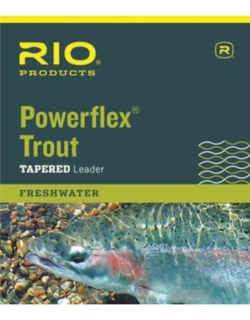 RIO Products RIO 12' POWERFLEX KNOTLESS LEADER 6X