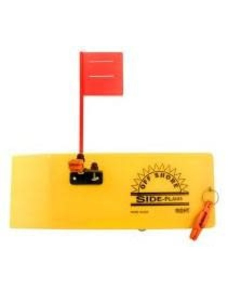 Off Shore Tackle Off Shore OR12R Right Side Planer W/Flag & 1 OR19 Release,1Clip &