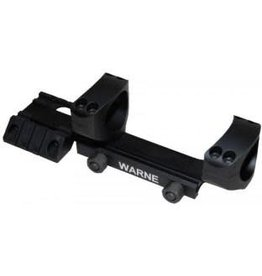 "Warne Scope Mounts RAMP1 Warne Team Warne 1"" Tactical 1 Piece Blk"