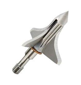 Trophy Taker, Inc Shuttle T-Lock Broadheads, Black, 125 Gr, 3 pk