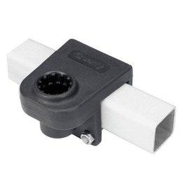 "Scotty Rail Mount Adapter Black 1-1/4"" Square Rail"