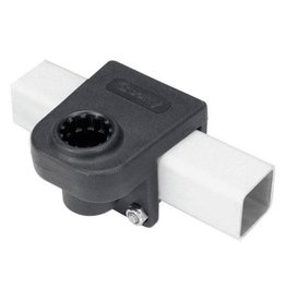 "Scotty Scotty 0243-BK Rail Mount Adapter Black 1-1/4"" Square Rail"