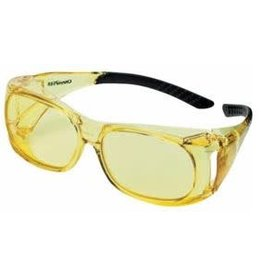 Champion (Vista Outdoors) 40634 Champion Over Spec Ballistic Glasses Amber