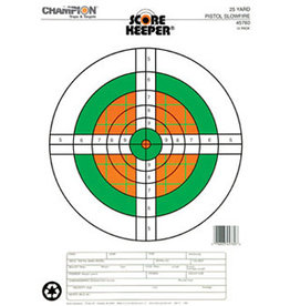 Champion (Vista Outdoors) 45760 Champion 25 YD Pistol Slow Fire Target