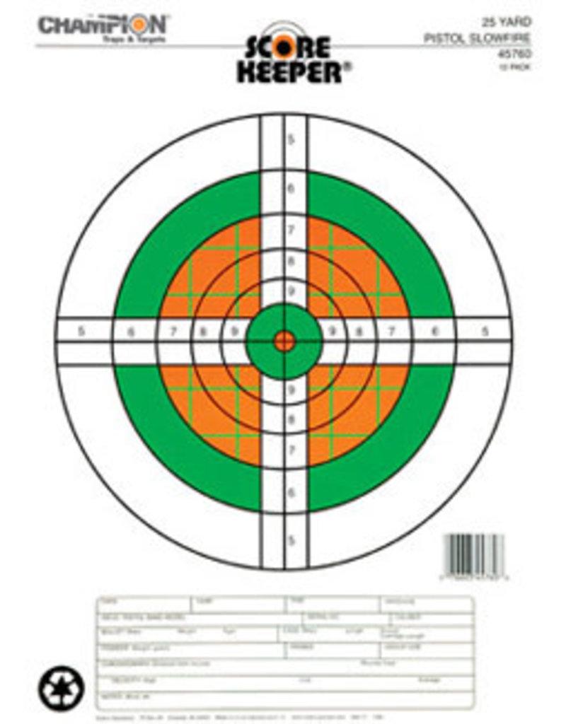 Champion (Vista Outdoors) 45760 Champion 25 YD Pistol Slow Fire Target
