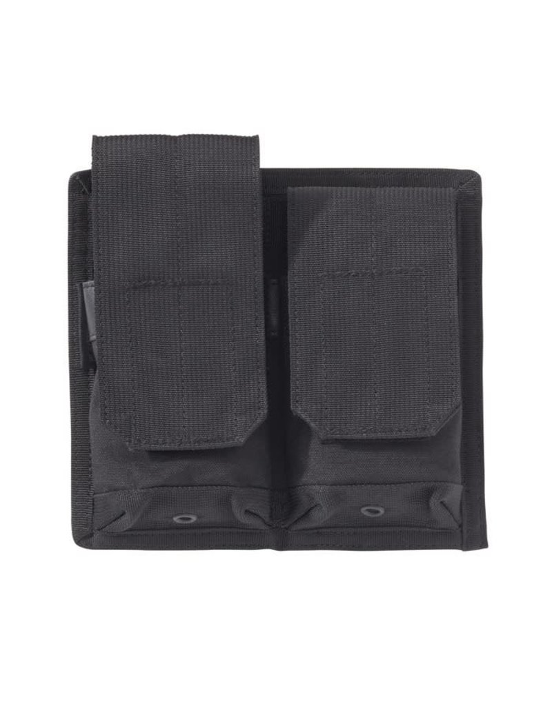 Blackhawk Products Group MAG POUCH, HOOK BACKED M16, P-MAG, HOLDS 2, BLACK-D