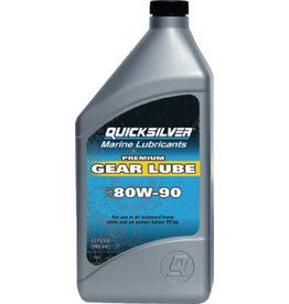 Mercury / Quicksilver Premium Gear Lube 80W90 Quart