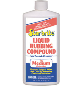Star Brite Liquid Medium Oxidation Rubbing Compound, Pt.