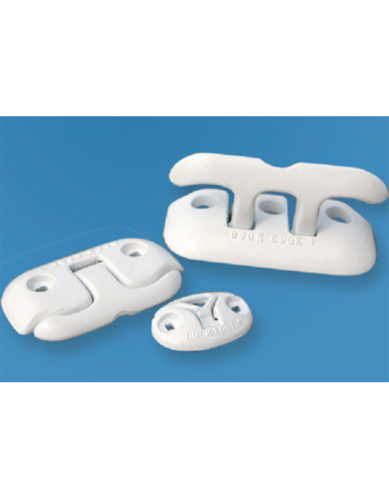 Dock Edge INC. Dock Cleat Flip Up 6IN White