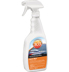 303 Products Quick Wax w/Carnauba, 32 oz.