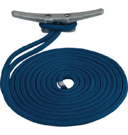 "Sea Dog Sea Dog Premium Double Braided Nylon Dock Line Double Blue 1/2""x15'"