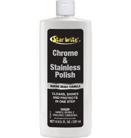 Star Brite Chrome & Stainless Steel Polish, 8 oz.