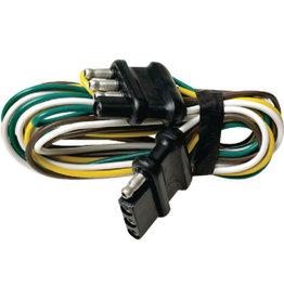 "Seachoice Seachoice 48"" 4-Pole Trailer/Trunk Wire Harness 4 Way Extension"