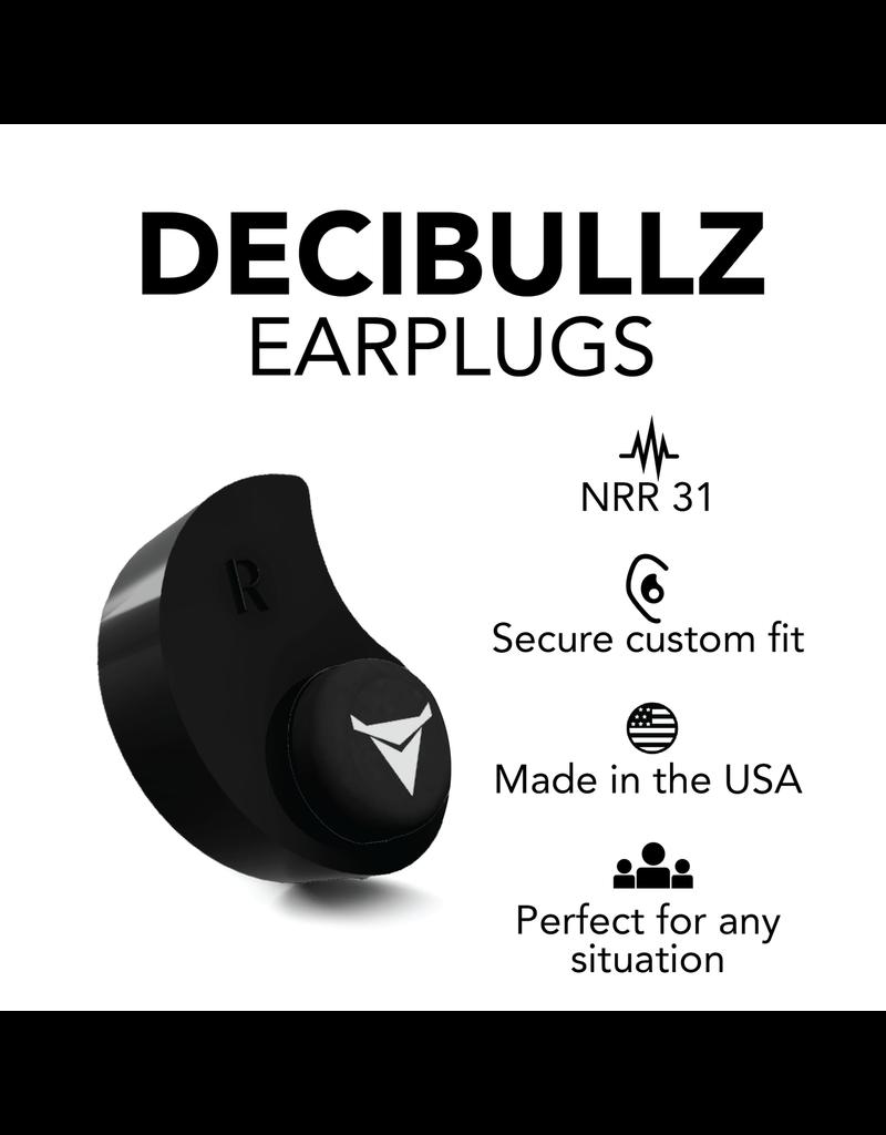Decibullz Blue Decibullz Custom Molded Earplugs