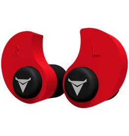 Decibullz Red Decibullz Custom Molded Earplugs