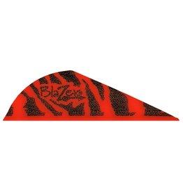 Bohning Company Bohning Blazer Vanes 36 pack (Red Tiger)