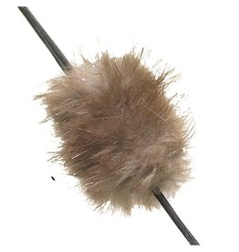 Western Recreation Industries Mountain Man Beaver Balls Brown 1 pk.