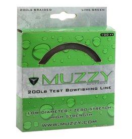 FeraDyne Outdoors Muzzy Bowfishing Line 200 lb. Lime Green 100 ft.