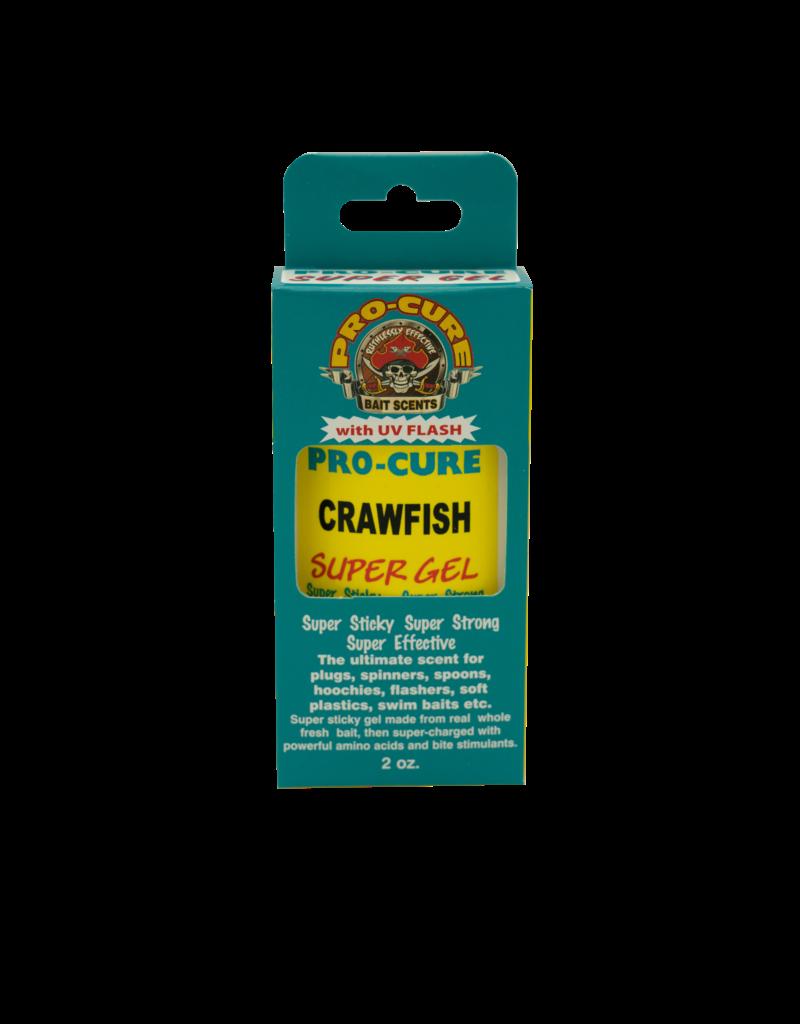 Pro-Cure Pro-Cure G2-CRW Super Gel, 2oz Crawfish