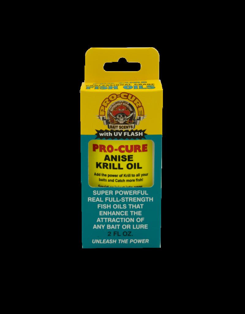 Pro-Cure Pro-Cure BO-AKR Bait Oil 2oz Anise Krill Oil