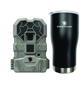 Stealth Cam 10MP 12IR QS CAMERA with Tumbler