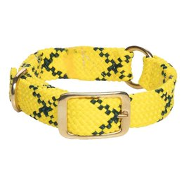 "Mendota Products Center Ring Collar 1""w up to 21"" - Hi-Viz yellow"
