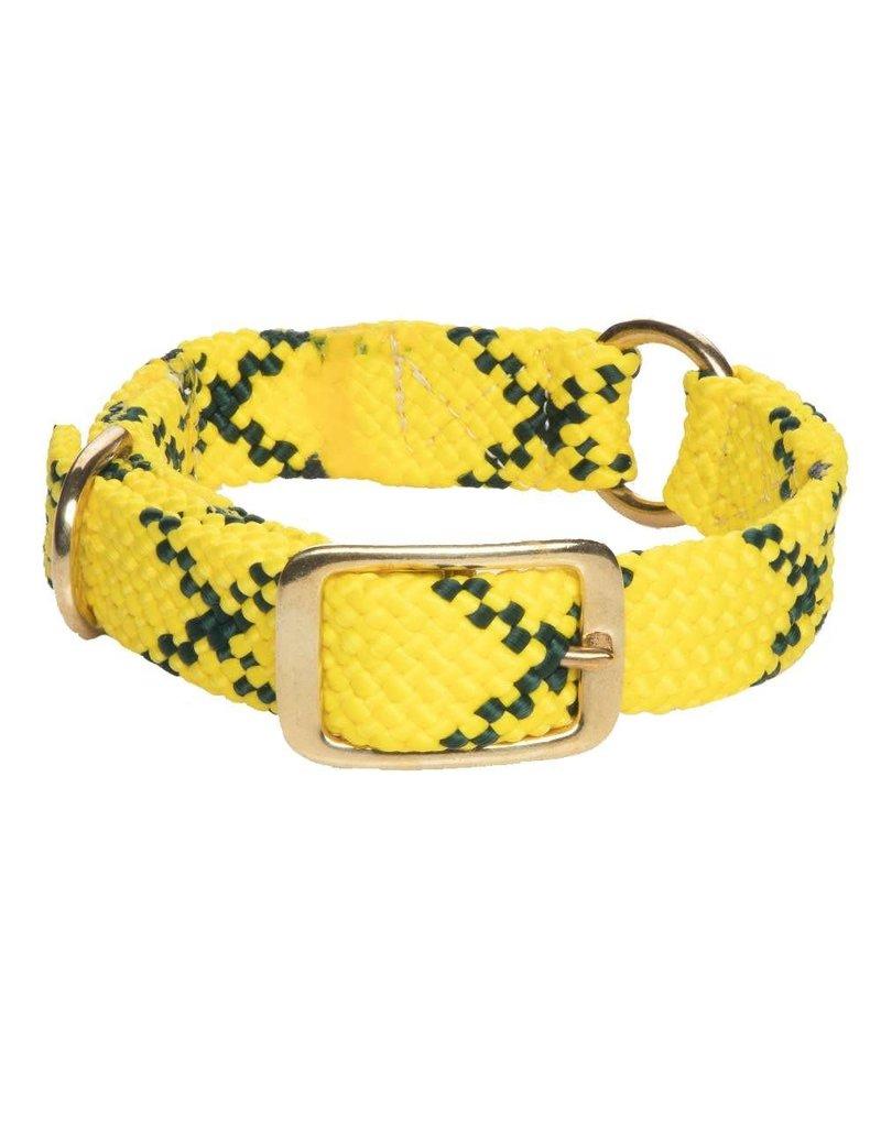 "Mendota Products Center Ring Collar 1""w up to 21"" - Hi-Viz yellow"