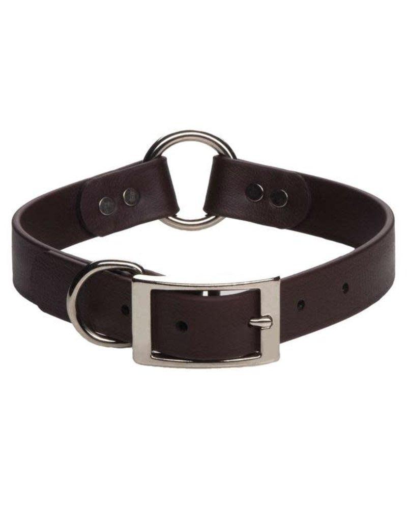 "Mendota Products DuraSoft Hunt Collar - Brown - 1"" x 20"""