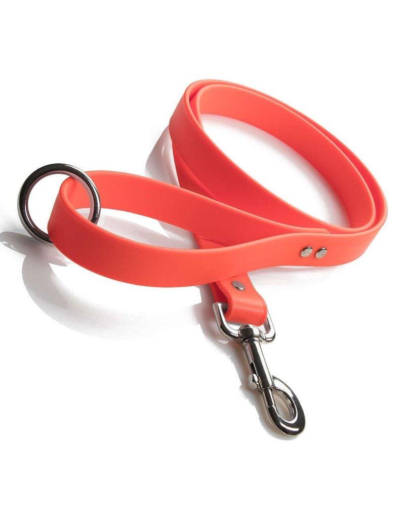 "Mendota Products DuraSoft Snap Lead - Orange - 1"" x 6'"